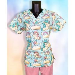 Veselá košeľa - Jednorožce