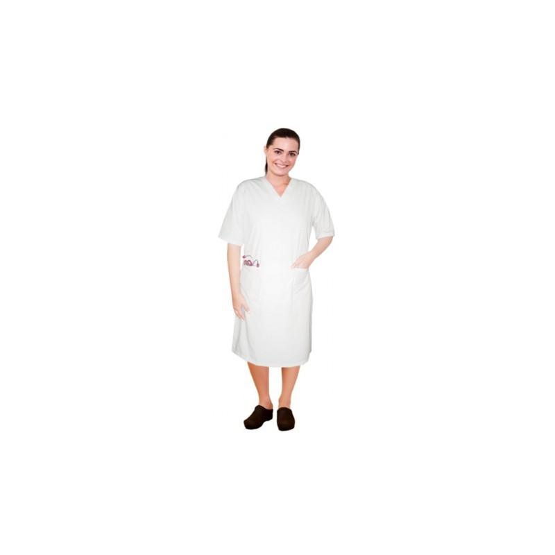 Dámske šaty krátky rukáv