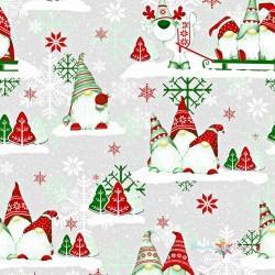Červení vianoční škriatkovia