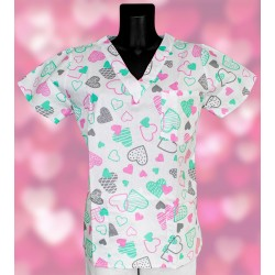Veselá košeľa - ružovo...